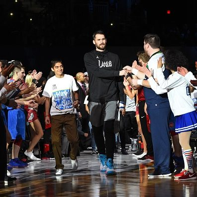 Kevin Love-2018 NBA All-Star